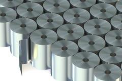 L'acier inoxydable love le plan rapproché Image stock