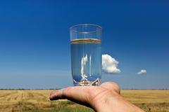 L'acqua è vita Fotografia Stock Libera da Diritti
