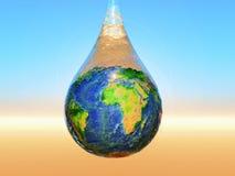 L'acqua è vita Fotografie Stock Libere da Diritti