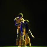 L'acqua che spruzza festival della danza popolare del cittadino di amore- Fotografie Stock