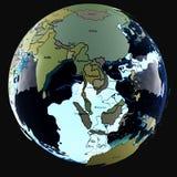 L'acqua della terra Immagine Stock Libera da Diritti