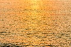 l'acqua di mare colora il fondo della natura di mattina fotografia stock libera da diritti