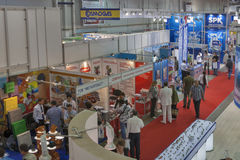 L'acqua-Therm vende la mostra a Kiev, Ucraina Immagine Stock