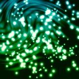 L'acqua verde con le stelle alleggerisce illustrazione vettoriale