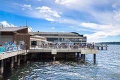 L'acquario di Seattle Fotografia Stock Libera da Diritti