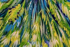 L'acrilico astratto dell'olio di strutture della pittura di arte dipinge la carta da parati royalty illustrazione gratis