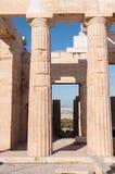 L'Acropole à Athènes Images libres de droits