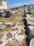 L'Acropole intérieure de voie Photographie stock libre de droits