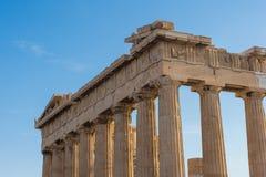 L'acropoli di Atene Fotografia Stock