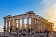 L'acropoli di Atene Fotografie Stock Libere da Diritti