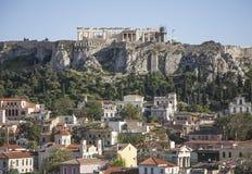 L'acropoli di Atene immagini stock libere da diritti
