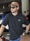 L'acteur Jason Priestley est vu chez LAX photographie stock