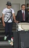L'acteur Ken Watanabe est vu chez LAX Image libre de droits