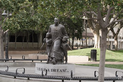 Dr. Martin Luther King, statue de mémorial de Jr. Image stock