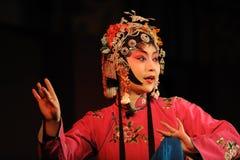 L'actrice de l'opéra de la Chine Images libres de droits