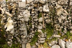 L'addizionatrice lapida Flint Stones Immagine Stock Libera da Diritti