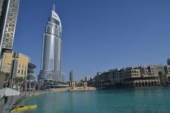 L'adresse Dubaï du centre image libre de droits