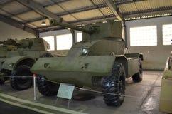L'AEC britannique Mk II de véhicule blindé image libre de droits