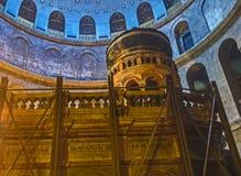 L'Aedicule de la tombe du Christ Photographie stock