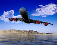 L'aereo immagini stock libere da diritti