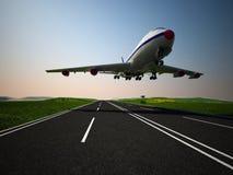 L'aereo immagini stock