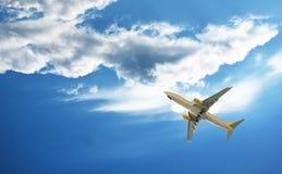 L'aereo Immagine Stock