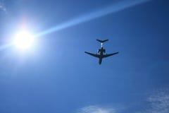 L'aereo immagine stock libera da diritti