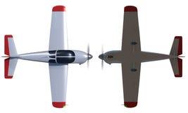 L'aereo dell'aviazione generale rende Fotografia Stock