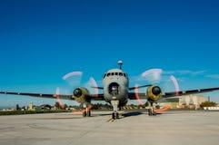 L'aeroplano Fotografia Stock