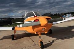 L'aeroplano Fotografie Stock