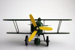 L'aeroplano del giocattolo ha isolato Immagini Stock