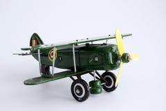 L'aeroplano del giocattolo ha isolato Fotografia Stock Libera da Diritti