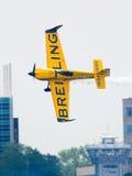 L'aeroplano di Breitling Fotografie Stock