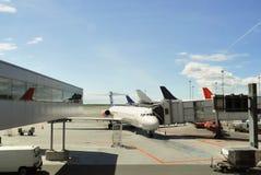 L'aeroplano ha preparato per il volo Fotografia Stock