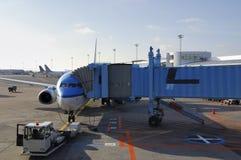 L'aeroplano ha preparato per il volo Fotografia Stock Libera da Diritti