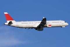 L'aeroplano sta arrampicandosi Immagine Stock Libera da Diritti