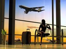 L'aeroporto royalty illustrazione gratis