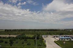 L'aeroporto di longjia Immagini Stock Libere da Diritti