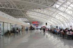 L'aeroporto di longjia Immagini Stock
