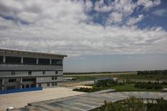 L'aeroporto di longjia Fotografia Stock