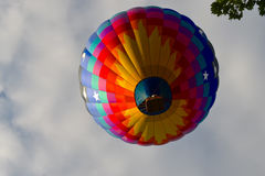 L'aerostato di aria calda photgrphed al Bealton, esposizione di aria del circo di volo di VA Fotografia Stock Libera da Diritti
