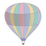 L'aerostato di aria calda photgrphed al Bealton, esposizione di aria del circo di volo di VA illustrazione di stock