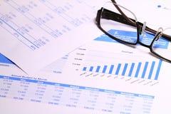 L'affare analizza Immagine Stock Libera da Diritti