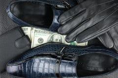 L'affare degli uomini, il modo degli uomini Immagine Stock Libera da Diritti