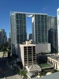 L'affare del foro Una vista di Miami, Florida, abitazione di lusso, 1 Fotografia Stock