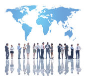 L'affare Team Development globale Fotografia Stock
