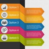 L'affare variopinto di Infographic abbottona - grafico, mondo, la gente, ingranaggi, stampante - l'illustrazione di vettore - iso Fotografie Stock