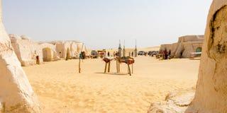 L'affare a vecchio Star Wars ha messo vicino a Naftah, Tunisia, Africa fotografie stock