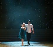 L'Affliger-amour est danse douloureux-moderne Photo libre de droits