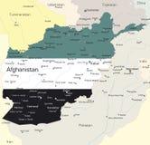 l'Afghanistan Illustration Stock